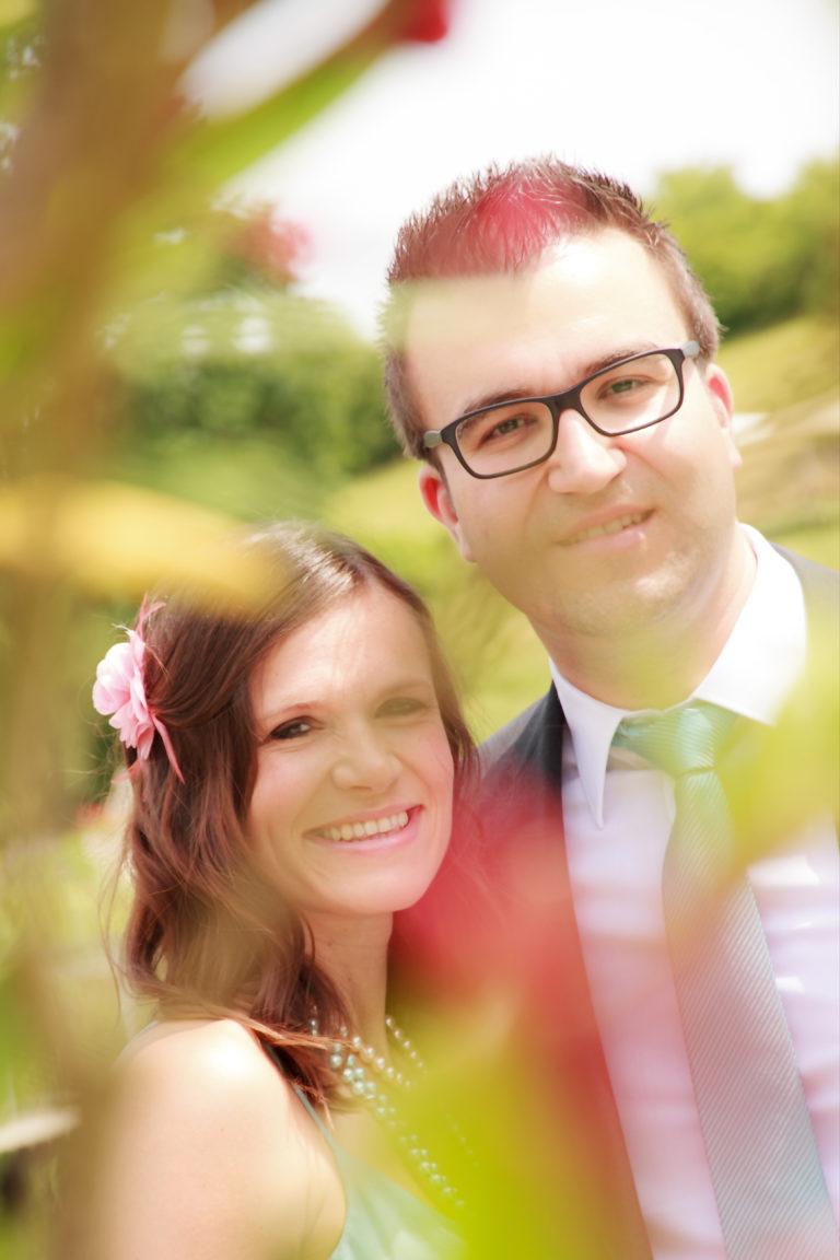 Hochzeitsfotografie Brautpaar Porträt