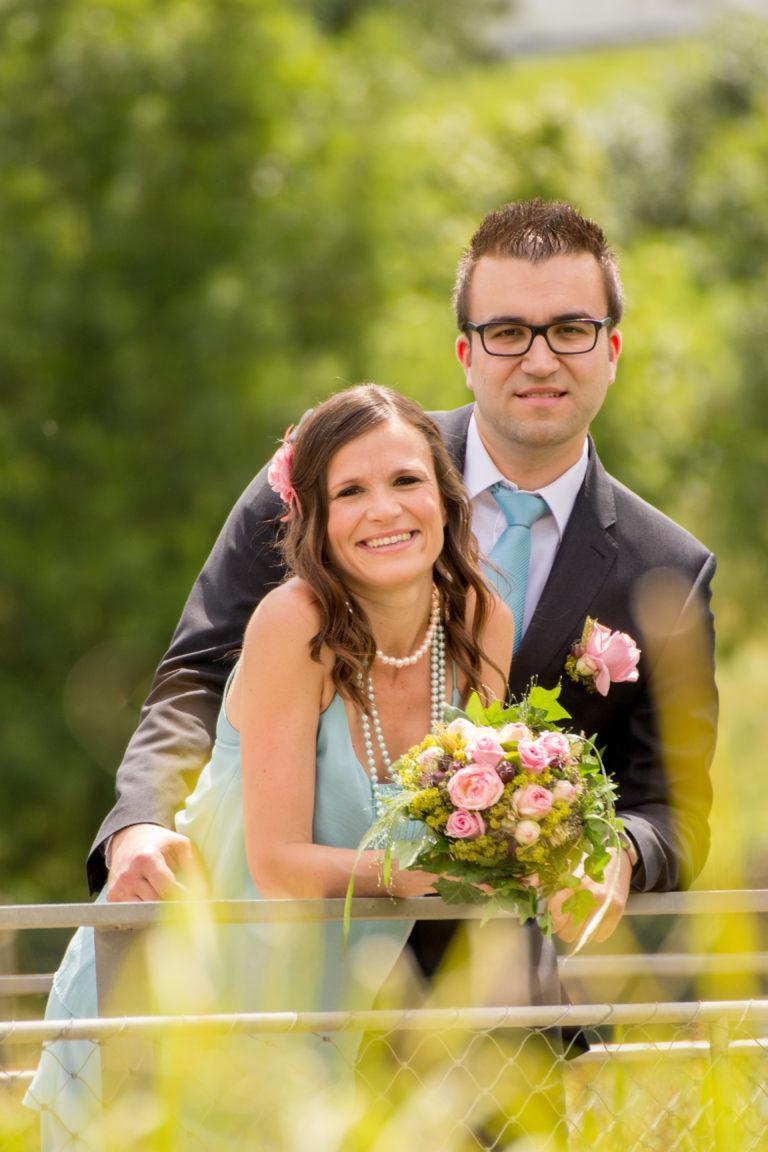 Hochzeitsfotografie-Brautpaarshooting