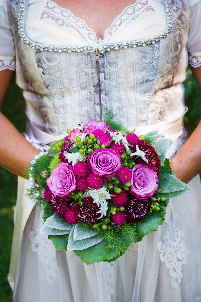 Brautstrauß Wildblumen